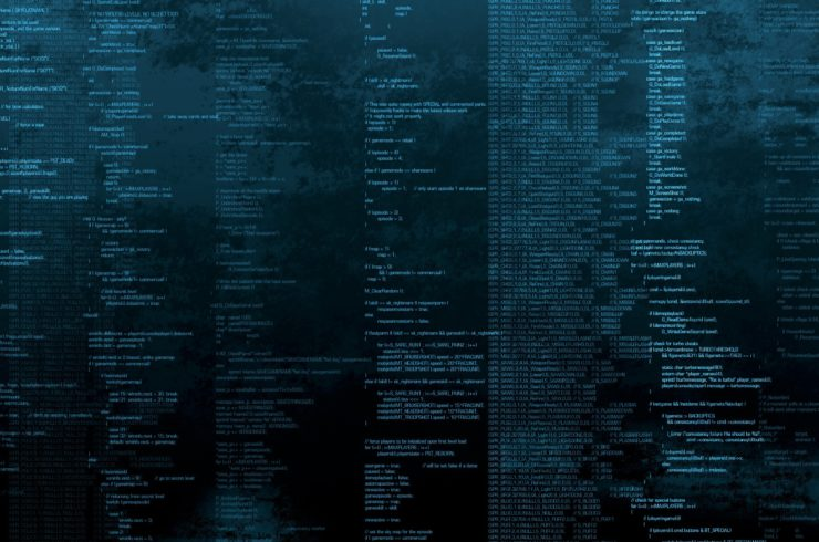 Coding_for_Doom_tech_computer_screen_game_doom_entertainment_words_numbers_symbol_Code_Black_Coding_Programming_Blue_1920x1080